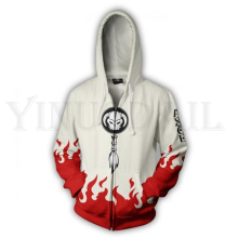 One Piece 3D Print Men Women Zipper Hoodie