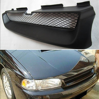 Body kit front bumper cover Refitting grill Accessories carbon fibre Racing Grills use for subaru Legacy 1995 1999 year