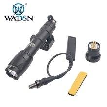 Wadsn Phiên Bản Airsoft M600 Chiến Thuật Hướng Đạo LED 340 Lumens Từ Xa Công Tắc Áp Lực M600C Súng Trường Đèn Pin WEX072 Vũ Khí Nhẹ