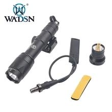 Wadsn versión Airsoft M600 Luz de explorador táctico LED 340 lúmenes interruptor de presión remota M600C Rifle linterna WEX072 arma de luz