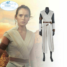 Outfit Cosplay Boots Rey-Costume Skywalker Jedi Rey Pants Superhero Women 9 Star The-Rise