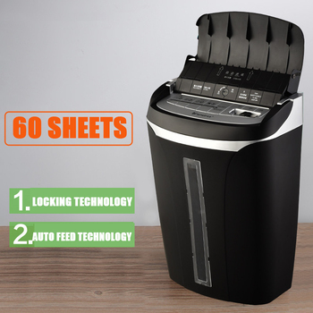 Stable Astronomical office paper shredder large capacity automatic paper feeding function high power electric paper shredder