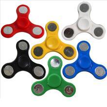 Пластиковый ручной Спиннер для аутизма и СДВГ Finger Tri-Spinner, игрушки для снятия стресса, эффект-Спиннер, игрушка-Спиннер, Спиннеры