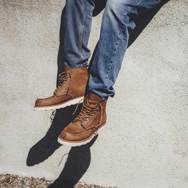 Vintage regular jeans in washed color