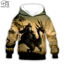Black Dinosaur 3d Hoodies coat Long Sleeve Pullover Cartoon Sweatshirt Tracksuit Hooded/pants/family t shirts(China)