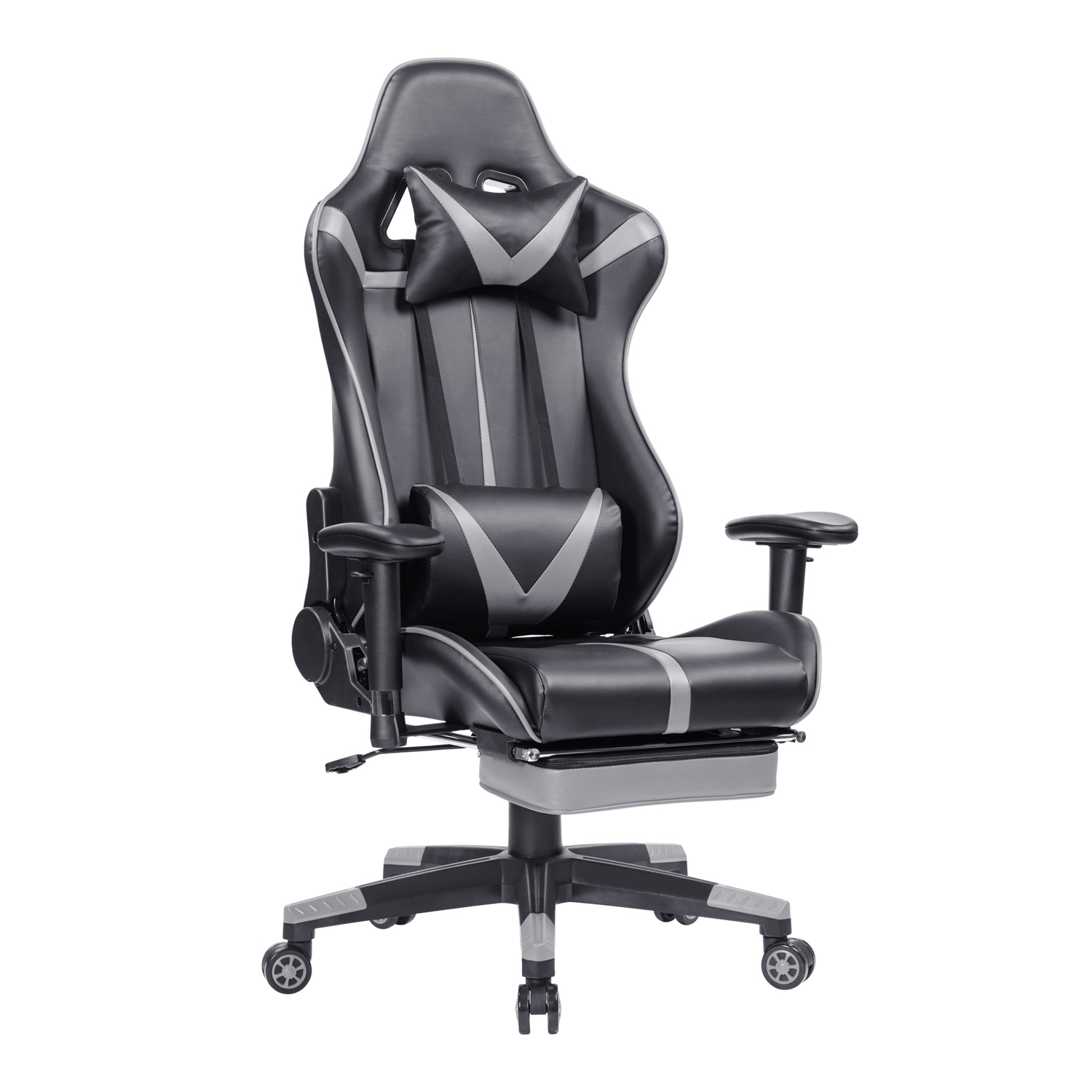 Comfortable Massage EU Racing Chair Reclining Computer Office Chair 360 Degree Revolving Gaming Recliner Armchair With Footrest