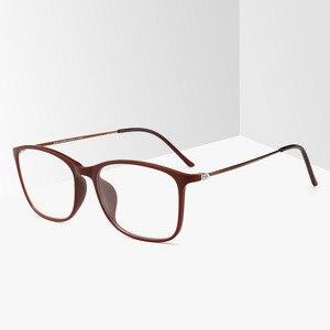 Image 2 - BCLEAR moda TR90 okulary ramki mężczyzn lub kobiet Ultralight Unisex plac zwykły szkło okulary męskie oprawki na okulary Hot
