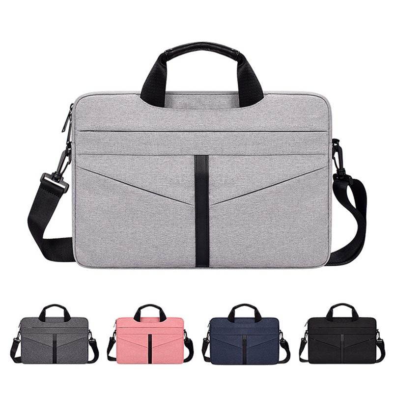 Universal Laptop Bag 13 14 <font><b>15</b></font> inch Notebook Bag Laptop Messenger Computer Shoulder Bag Briefcase Case Cover for Macbook HP DELL image