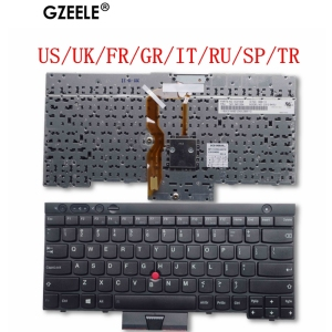 US/UK/FR/GR/IT/RU/SP/TR New Keyboard for Lenovo ThinkPad L530 T430 T430S X230 W530 T530 T530I T430I 04X1263 04W3048 04W3123