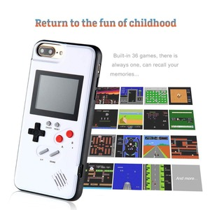 Image 4 - Retro Tetris Game Case for Samsung Galaxy S 10 S10 Gameboy Phone Case for Galaxy Note 10 Plus Led Display Cover with Games Class