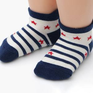 New Kids Socks 12 Pairs Baby Boys Girls Socks Cartoon Striped Pattern Socks Set Cotton Warm Floor Sock Autumn Leg Warmer