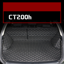 Lsrtw2017 for Lexus Ct200h Leather Car Trunk Mat Cargo Liner Ct200 ct 2012 2013 2014 2015 2016 2017 2018 2019 Rug Carpet lsrtw2017 styling interior car floor mat for lexus ct200 ct ct200h 2012 2013 2014 2015 2016 2017 2018 cover accessories ct200