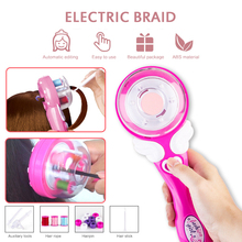 DIY Electric Automatic Hair Braid Machine For Girls Children Braiding Hairstyle Tool Pretend Play Toys Christmas Xmas Gifts