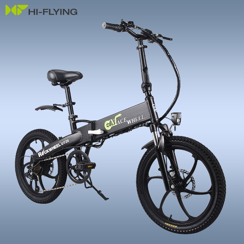 Electric Folding GT20 Bike Three Riding Modes ebike 350W Motor e bike 60KM Range Electric Bicycle 20 inch tire scooter 3