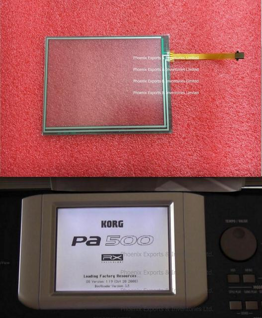 LCD + TOUCH SCREEN PA600X3 KORG PA500 TOUCH X4