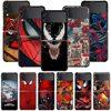 Smartphone Case For Samsung Galaxy Z Flip3 5G Z Flip 3 z flip ZF 5G Cover PC Capa Hard Funda Coque Spider-Man Marvel Comics