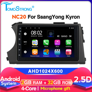 car radio For SSANGYONG Kyron 2005 2006 2007-2015 Android multimedia video player gps navigation WIFI DVR SWC mic 2.5D no dvd