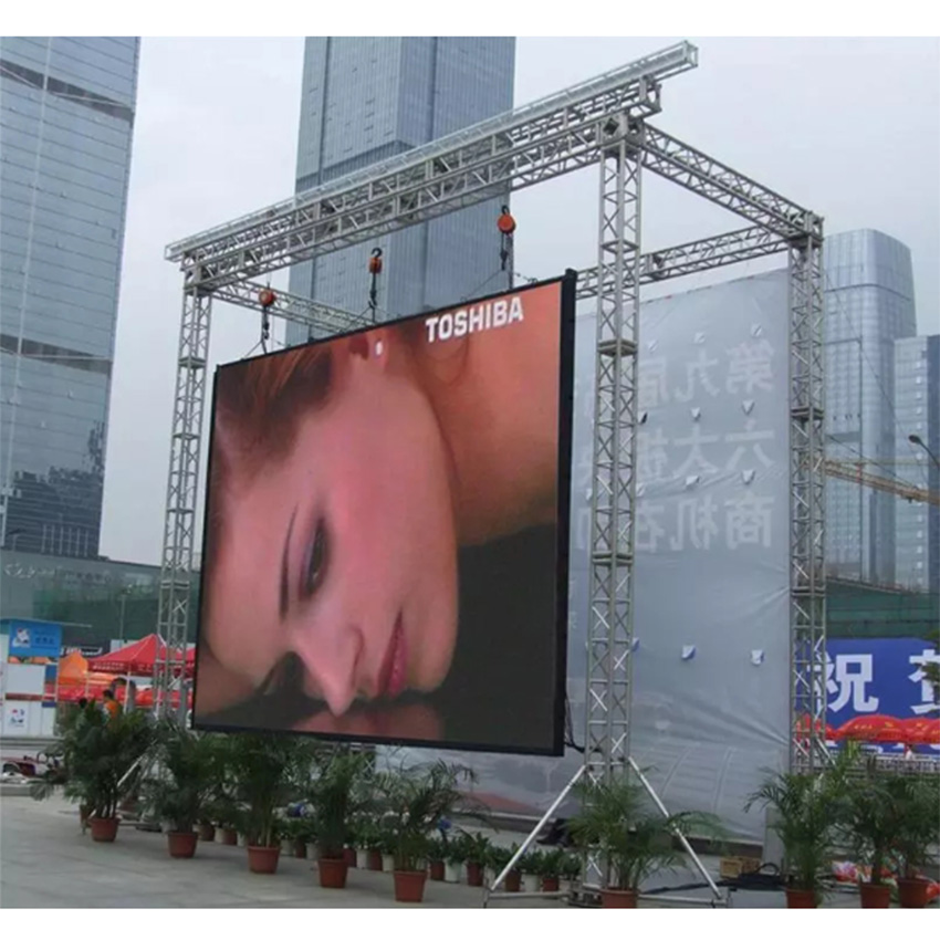 P10 Outdoor Full Color SMD 64*64pixels Rgb Led Wall Screen Module P2.5 P3 P5 P6 P7.62 P8 P10 LED Display Panel