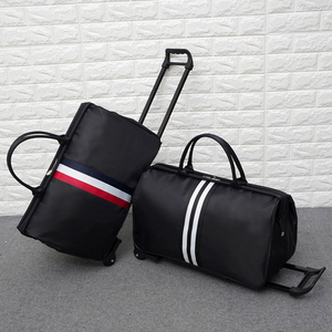 Image 5 - JULYS SONG Men Luggage Bags Trolley Travel Bag With Wheels Rolling Carry on Suitcase Bag Wheeled Women Bolsas