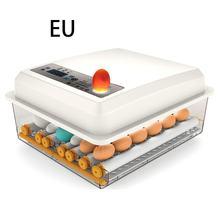 Incubadora de ovos totalmente automático 16 ovos/7 ovos digital mini chocadeira pequena galinha pássaro ovo incubadora automática ferramenta de incubação agrícola