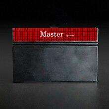 Sistema Master cartuccia di gioco 600 in 1 fai da te per USA EUR SEGA Master System Console di gioco