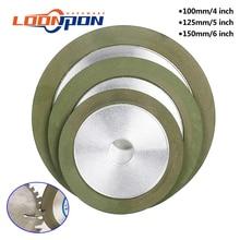 Алмазный шлифовальный круг 100 мм/125 мм/150 мм, Круглый шлифовальный круг, зернистость 150-320 для вольфрамовой стали, фреза, инструмент, точилка, ш...
