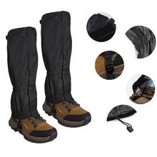 Обувь снегоступы поход Открытый ноги лыж защита снежного покрова водонепроницаемый леггинсы ходьбы Мужская зимняя куртка с капюшоном тепл...
