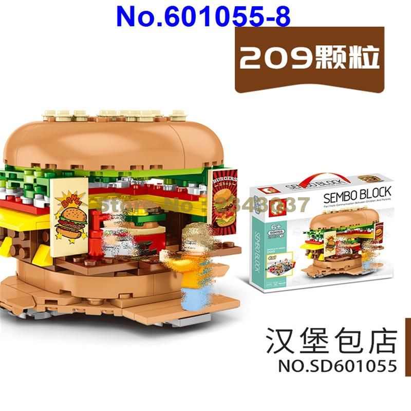 8 Miniature hamburgers /& French fries Special Order