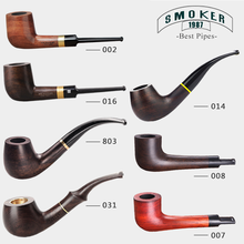 ▂ξ Smoker Hot Sale Wooden Pipes Handmade Wood Smoking Pipe, Perfect Pipe With Smoking Tools Freeshipping(China)