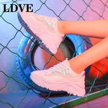 Women Shoes 2019 New Chunky Sneakers For Vulcanize Casual Fashion Dad Platform Basket Femme Krasovki