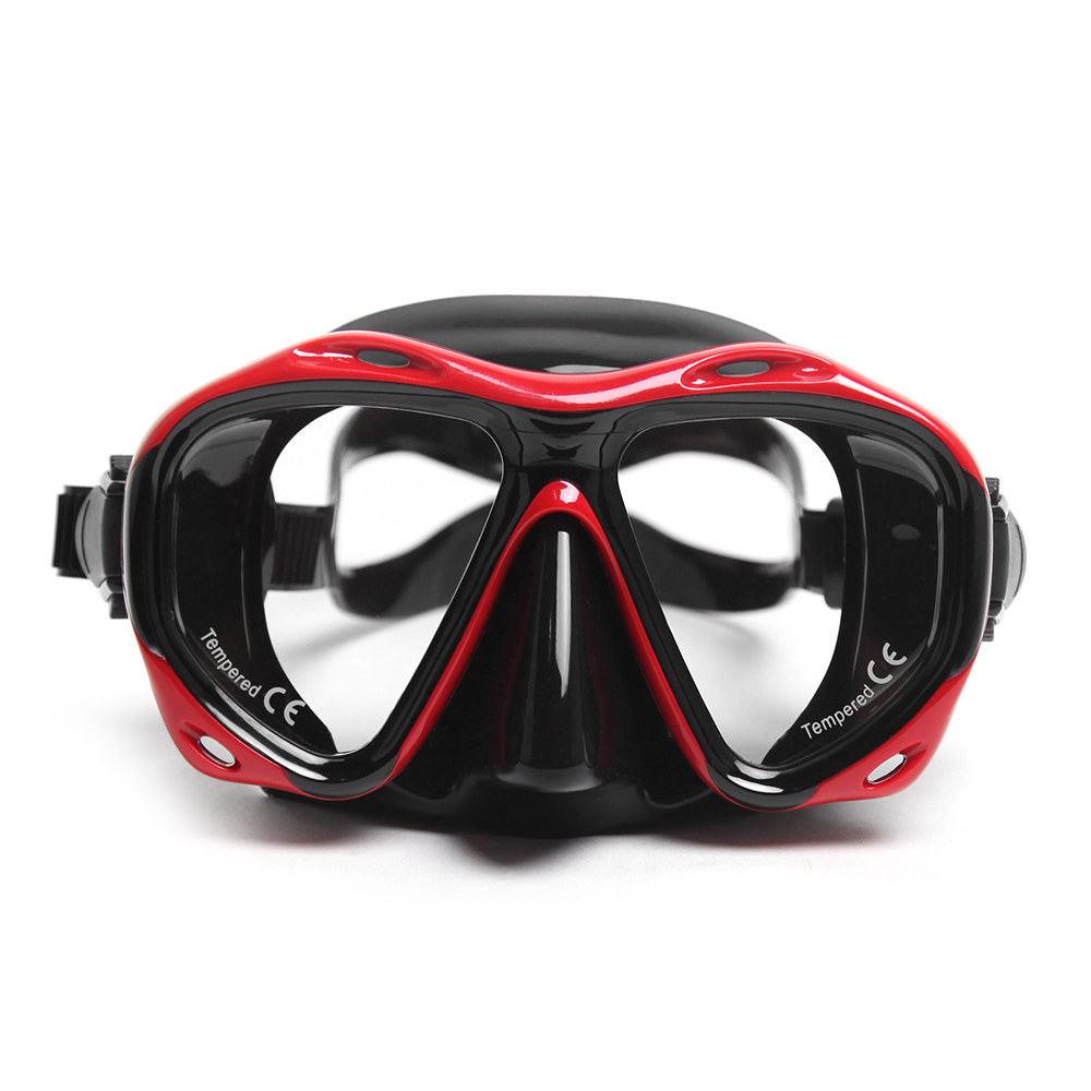 Enthusiastic Adult Scuba Diving Mask Silicone Diving Goggle Underwater Salvage Scuba Diving Goggles Mask Swimming Equipment Swimming Tools