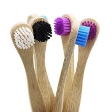 20 штук для чистки языка, Бамбуковая щетка для чистки языка, скребок для языка, мягкая щетина, экологически чистая