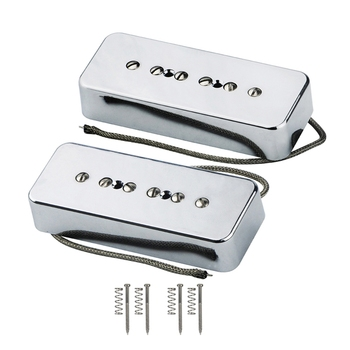 Set of Neck Bridge Soap Bar P90 Pickup Alnico 5 Electric Guitar Pickup Single Coil Guitar Parts футболка print bar coil