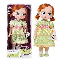 Disney 12 Style Princess Action Figures Toys Belle Cinderella White Snow Fairy Rapunzel Doll Ariel doll Decoration Children Gift