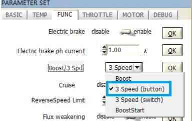 3 - speed mode(Button)