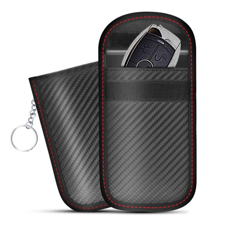 Anti Theft Anti Position Key Bag Against Radiation Car Shield Key Case Key Cover Single Layer Signal Blocking Pocket|Key Case for Car| |  - title=