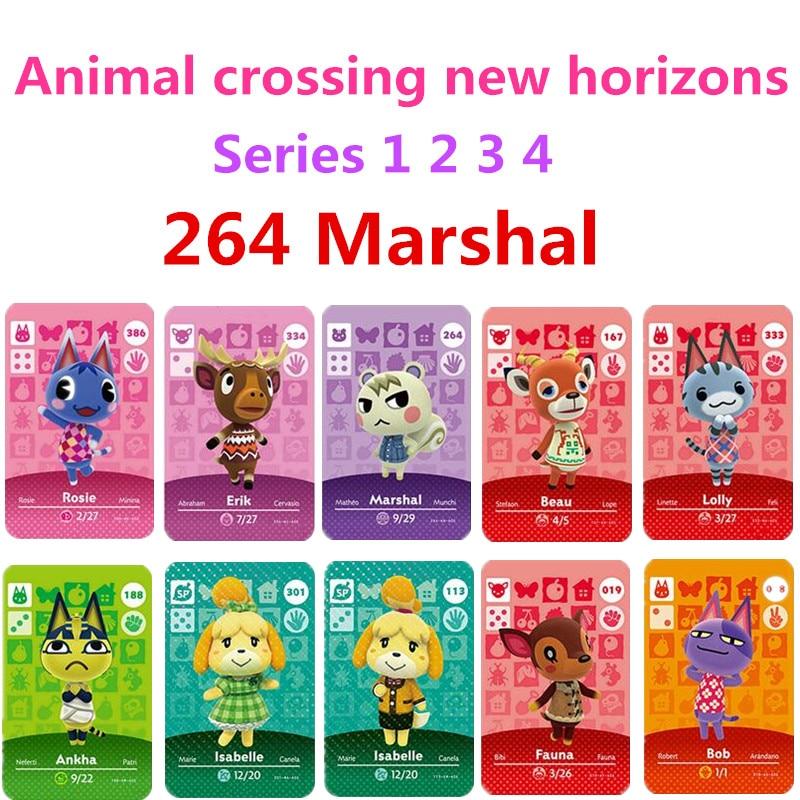 Marshal Animal Crossing Marshal Amiibo 264 Animal Crossing Switch Rv Welcome Amiibo Villager New Horizons Amiibo Card Series 1-4
