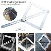 2019 Hot Diagonal Ruler Multifunctional Aluminum Alloy Thicken Adjustable High Precision Measurement S7 #5|Protractors| |  -