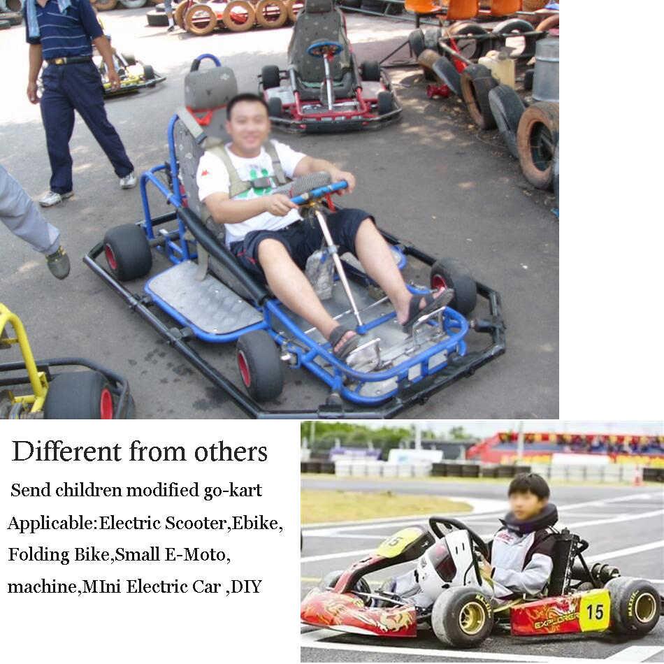 Zestaw elektryczny skuter zestaw do konwersji roweru elektrycznego 3000w 48 V-72 V silnik elektryczny do deskorolki Ebike sterownik silnika 50A gokart