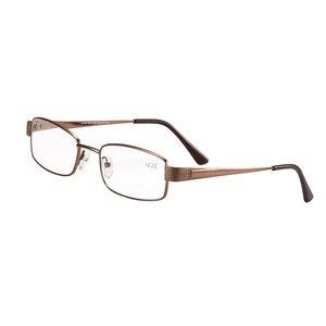 Image 4 - Meeshow フォトクロミック近視光学ガラス老眼鏡スクエアメタルフレーム高品質抗青色光コンピュータ
