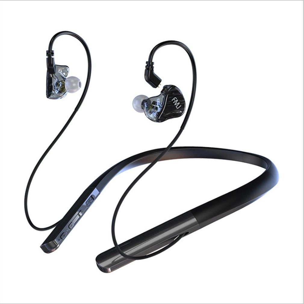 S6 Sport tour de cou sans fil casque Bluetooth écouteur Subwoofer casque pour téléphone avec micro écouteur pour iPhone Xiaomi Huawei