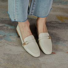 Женские туфли на плоской подошве osunlina с квадратным носком