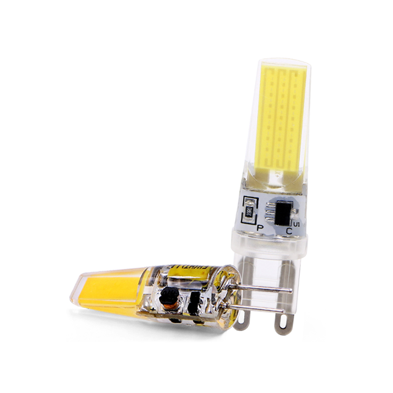 Mini <font><b>LED</b></font> Lamp <font><b>G4</b></font> G9 E14 AC/DC <font><b>12V</b></font> 220V 3W 6W <font><b>9W</b></font> COB <font><b>LED</b></font> <font><b>G4</b></font> G9 Bulb Dimmable 360 Beam Angle Replace Halogen Chandelier Lights image