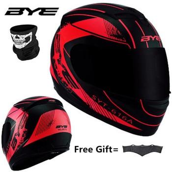 цена на RED Black Adult Full Face Helmet Motorcycle Helmet vintage Motorcycle Motorbike Vespa