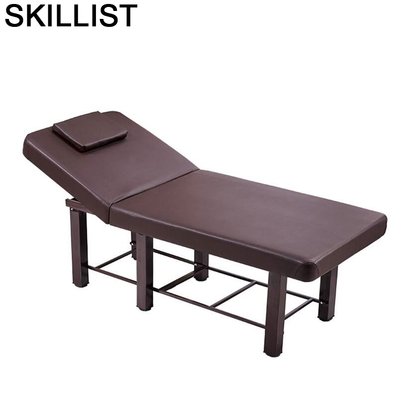 Cama Para Tempat Tidur Lipat Furniture Pedicure Beauty Mueble Salon Chair Camilla Masaje Plegable Table Folding Massage Bed