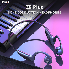 Bluetooth 5.0 Earphone Z8s Bone Conduction Earphone Wireless Headphones Waterproof Sport Handsfree Music Headset fone de ouvido bluetooth 5 0 s wear z8 wireless headphones bone conduction earphone outdoor sport headset with microphone handsfree head