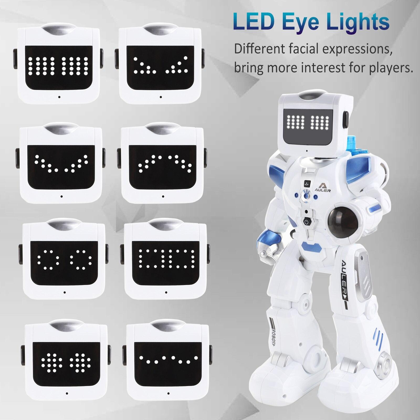 Inteligente robô alfa brinquedo hydroelectric híbrido robô inteligente rc controle de som cantando dança robô brinquedos educativos das crianças - 5