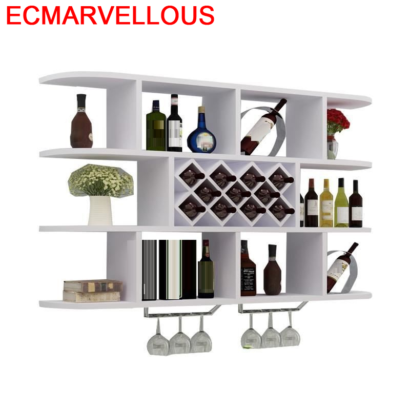 Adega Vinho Cocina Display Armoire Kitchen Mesa Vetrinetta Da Esposizione Cristaleira Mueble Bar Furniture Shelf Wine Cabinet