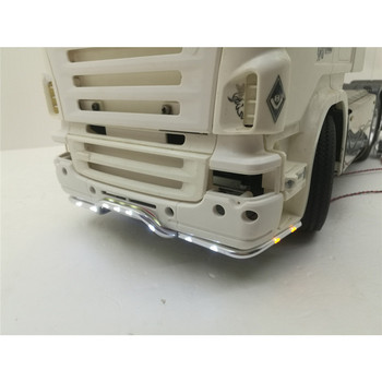  Bumper Light Tractor Light Replacement Front for 1:14 Tamiya Scania 620 56323 730 RC Truck Parts