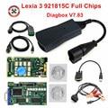 Профессиональный диагностический инструмент Lexia3, полный диагностический прибор 921815C, Lexia 3 PP2000 V48/V25 Diagbox V7.83 для Peugeot/C-itroen, автоматический ска...